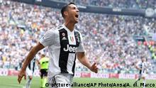 Italien Fußball Serie A - Juventus Turin vs. Sassuolo | Cristiano Ronaldo