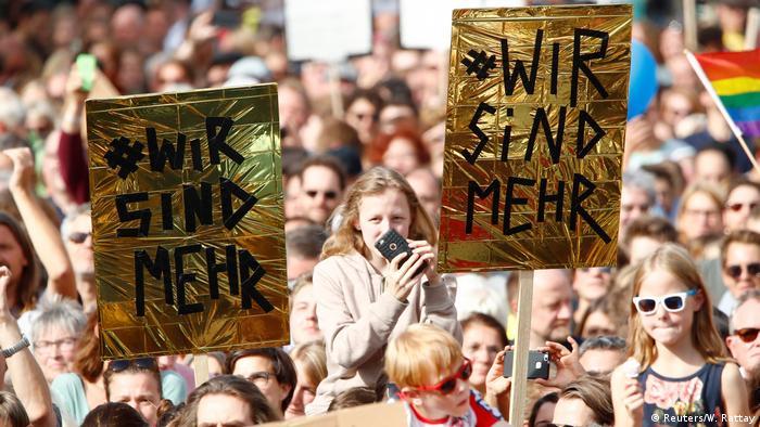 Акція проти ксенофобії у Кельні