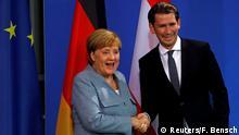 Deutschland Merkel und Kurz wollen mehr Kompetenzen für EU-Grenzschutzagentur