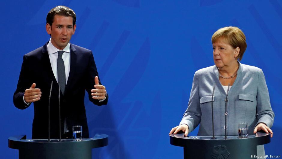Merkel dhe Kurz  ndarje pune në trajtimin e migrimit nga Afrika