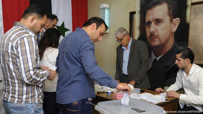 Syrians vote in local elections