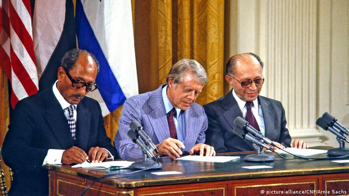 Camp David 1978 Ägypten - Israel Friedensverhandlungen