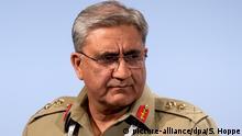 MSC Qamar Javed Bajwa Armeechef von Pakistan