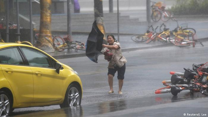 China Taifun Mangkhut