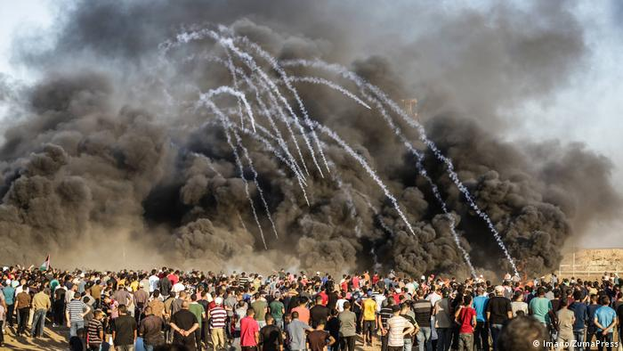 BdTD Palästina Proteste im Gazastreifen (Imago/ZumaPress)