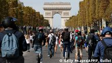 BdTD Frankreich Autofreier Tag in Paris