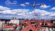 Bauarbeiten Belgrad