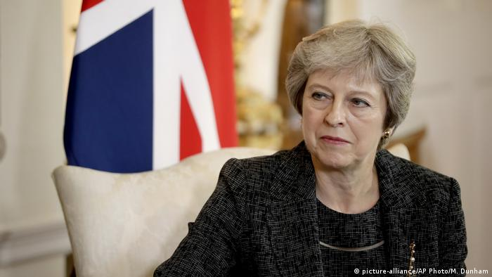 Theresa May (picture-alliance/AP Photo/M. Dunham)