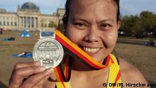 Berlin marathon Bildbeschreibung: Berlin marathon, participants from Indonesia Location: Berlin, Deutschland