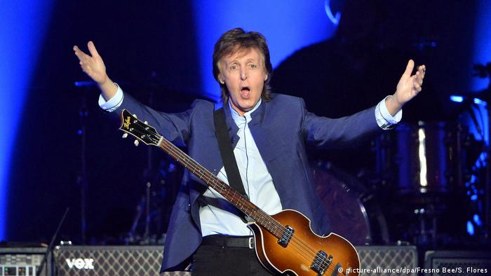 Paul McCartney britischer Musiker (picture-alliance/dpa/Fresno Bee/S. Flores)