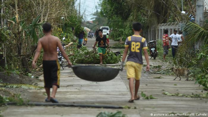 Philippines typhoon Mangkhut