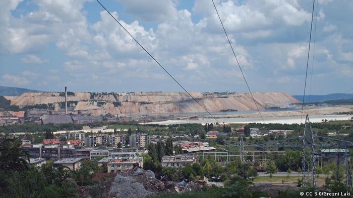 Serbien Bor Bergwerksindustrie