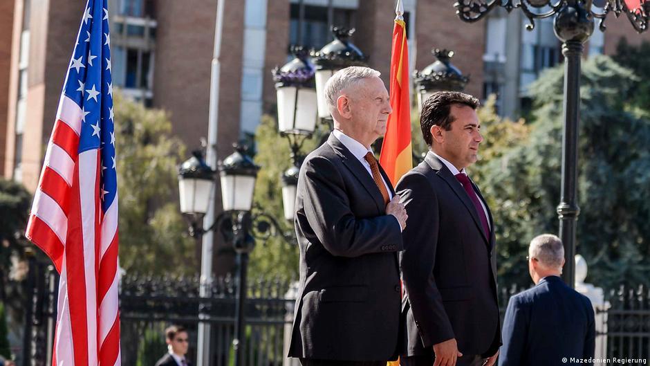 Maqedoni  Përkrahje e SHBA për referendumin