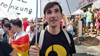 Michail, Aktivist BerLUN (privat)