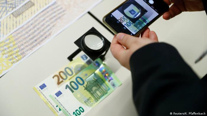 Як стверджують у ЄЦБ, купюри мають дуже високий рівень захисту