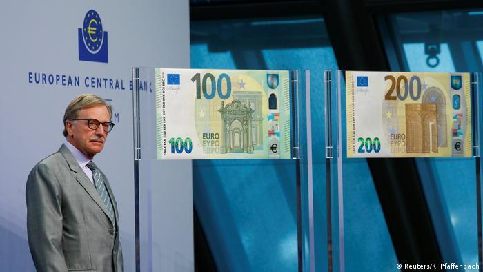 La presentación del nuevo billete de 100 y 200.
