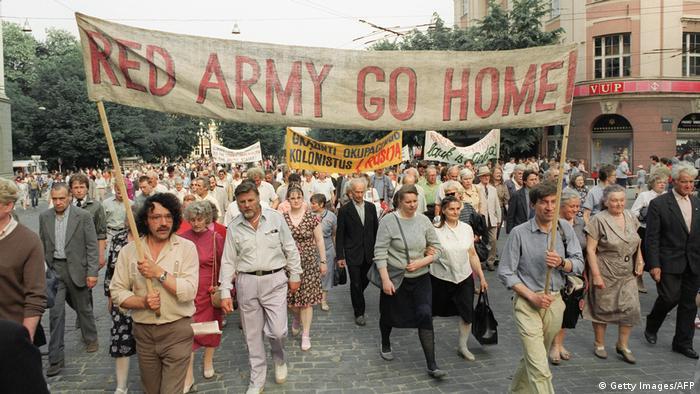 Prosvjedi protiv Crvene armije u Litvi 1991.