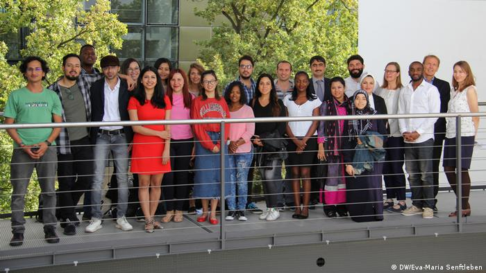 26 students from 18 different countries: This is the 10th intake of DW Akademie's International Media Studies.
