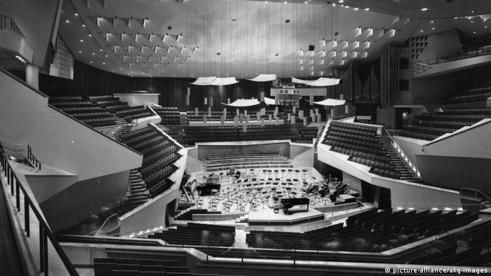 Blick in die Berliner Philharmonie (picture-alliance/akg-images)