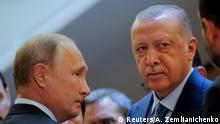 Russland Sotschi Treffen Putin Erdogan