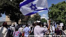 Israel Jerusalem Demonstration von Äthiopischen Juden (picture-alliance/ZUMA Wire/N. Alon)