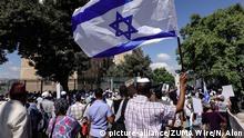 Israel Jerusalem Demonstration von Äthiopischen Juden