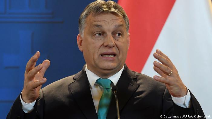 Ungarn Viktor Orban in Budapest