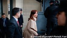 Argentinien Cristina Fernández de Kirchner vor Gericht in Buenos Aires