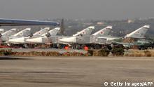 Syrien Luftwaffenstützpunkt Hmeimim