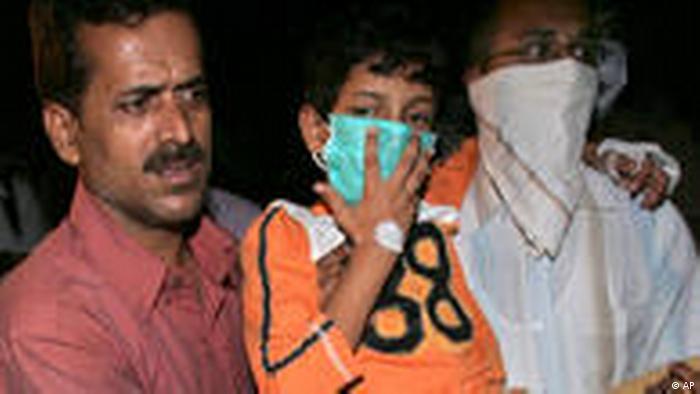 Indien Schweinegrippe (AP)
