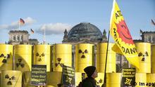 Deutschland Protest gegen Castor-Transporte nach Gorleben