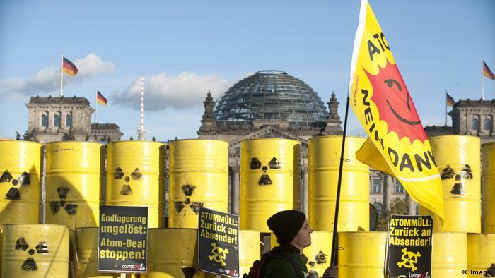 Deutschland Protest gegen Castor-Transporte nach Gorleben (Imago)