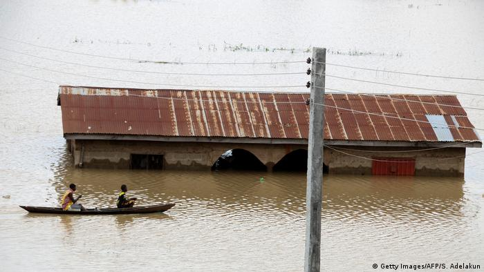 Nigeria Lokoja - Flut (Getty Images/AFP/S. Adelakun)