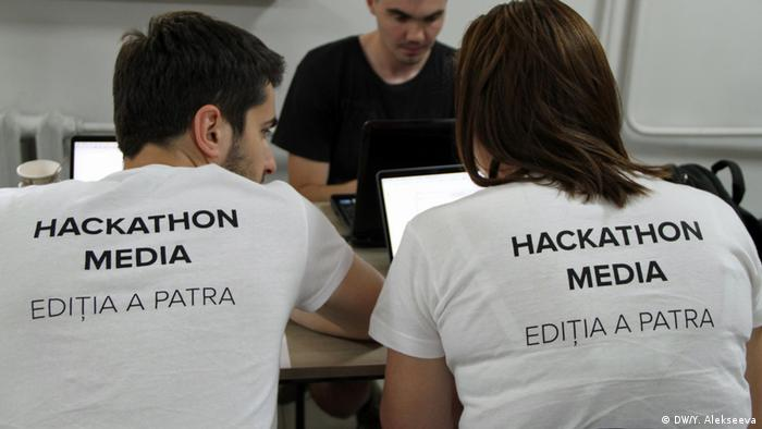 And finally: do not call the event a hackathon just because it sounds good. If it's not about programming and working with computers it's a workshop and not a hackathon. (DW/Y. Alekseeva)