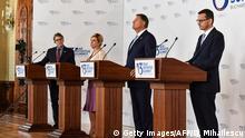 Rumänien Bukarest - Drei-Meere-Initiative