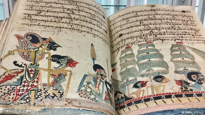Jakarta - Alte Manuskripte (DW/M. Rijkers )
