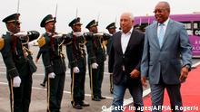 Angola Besuch von Portugals Premierminister Antonio Costa