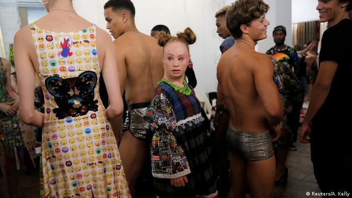 Weltweiter Erfolg eines Models mit Down-Syndrom (Reuters/A. Kelly)