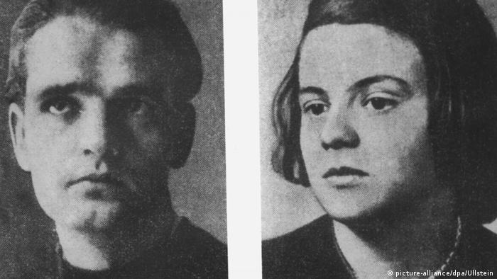 Geschwister Hans und Sophie Scholl (picture-alliance/dpa/Ullstein)