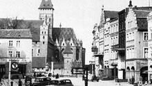 Polen Deutschland NS Zeit Leichen Beisetzung Straße in Malbork vor dem zweiten Weltkrieg