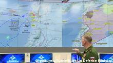 Russisches Militärflugzeug in Syrien vermisst