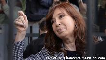 Cristina Fernandez de Kirchner vor Gericht