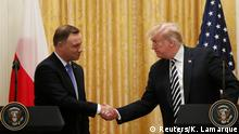 USA Washington - Donald Trump trifft auf Andrzej Duda