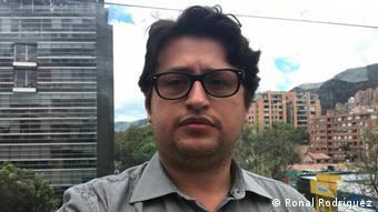 Ronal Rodríguez, politólogo, internacionalista, profesor e investigador. Vocero del Observatorio sobre Venezuela de la Universidad del Rosario, con sede en Bolgotá, Colombia.