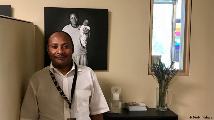 USA Montana - Joel Kambale Flüchtlinge aus der DRC