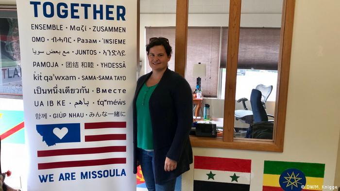 USA Montana - Gründerin von Soft Landing in Missoula, Mary Poole
