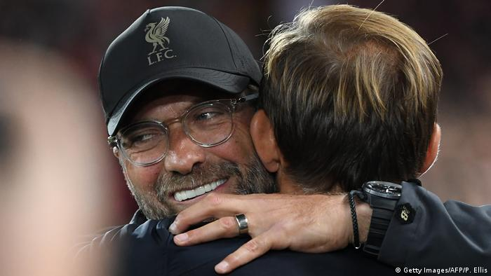 UEFA Champions League   FC Liverpool vs. Paris St. Germain   Jürgen Klopp & Thomas Tuchel