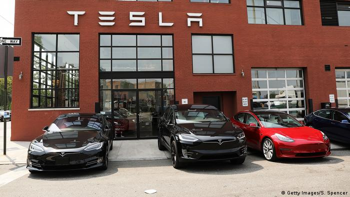 USA Tesla-Zentrum in New York (Getty Images/S. Spencer)