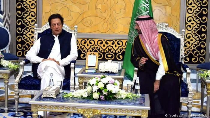 Imran Khan besucht Saudi-Arabien
