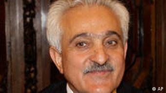 Afghan foreign minister Rangin Spanta
